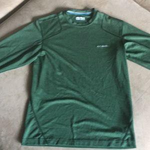 Men's Columbia Long Sleeve Green. Like New!